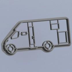 Motorhome semi integrated